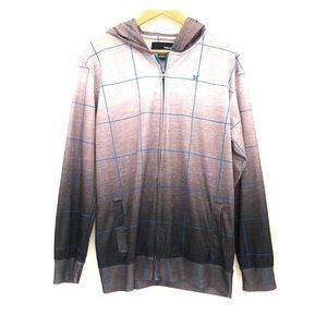 Hurley ombre hoodie jacket  XL boys 18